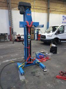 VGP : Colonne poids lourds - colonne 5500 kg